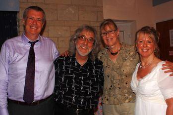 Clive Banks Gordon amp Hilary Giltrap Susan Banks
