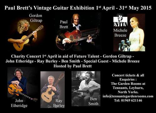 Paul Brett039s Guitar Exhibition