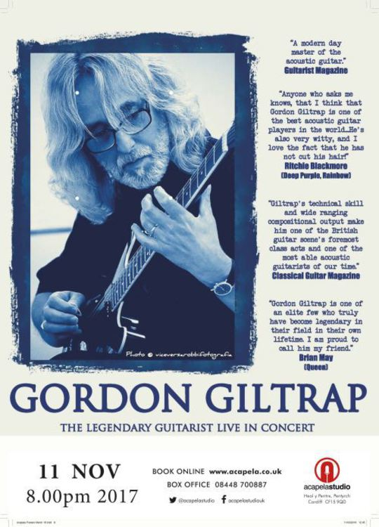Gordon Giltrap With Special Guest Carrie Martin