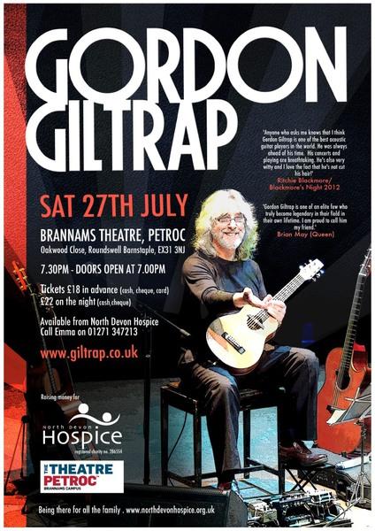 Concert in aid Of North Devon Hospice