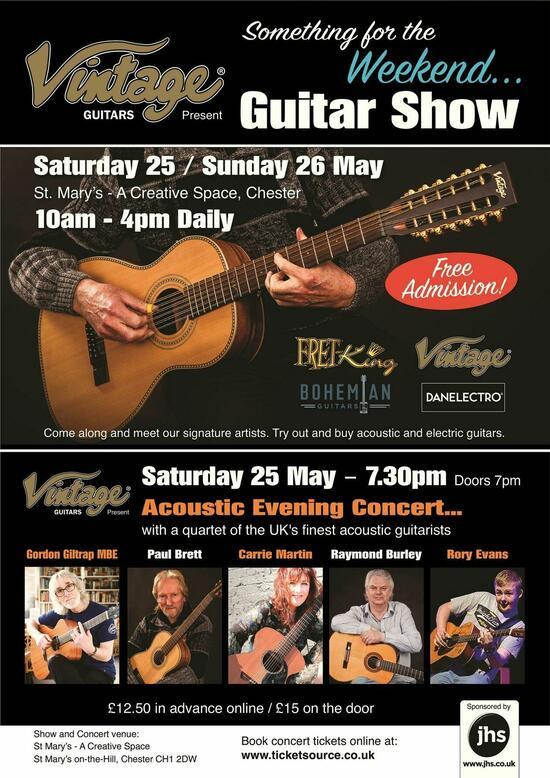 Vintage Guitars 039Something for the Weekend039 Evening Concert