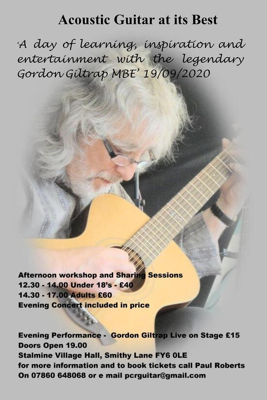 Gordon Giltrap in concert