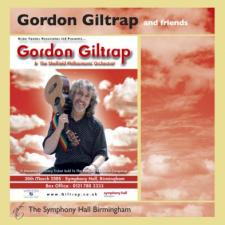 cover of Gordon Giltrap and Friends at The Symphony Hall