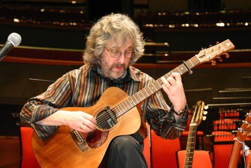 Gordon plays a Rob Armstrong guitar