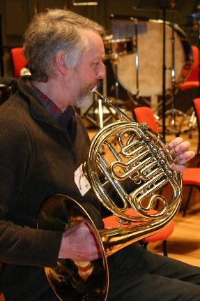 A Sheffield Philharmonic musician