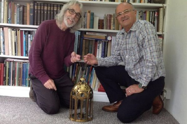 GG and lamp maker Mick Dolby