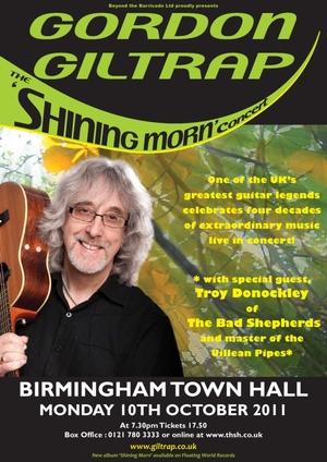 Shining Morn Concert poster