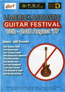 Limerick Acoustic Guitar Festival