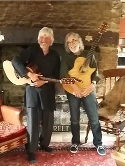 Nick Hooper and Gordon Giltrap