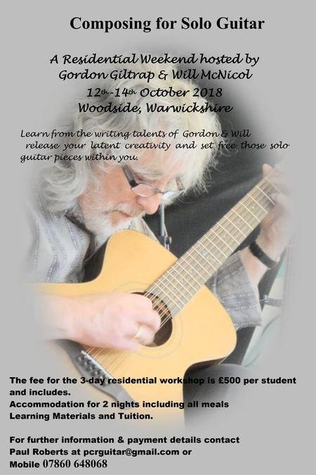 Composing Weekend 12-14 Oct 2018