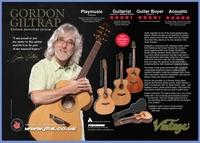 JHS Vintage Gordon Giltrap Signature Guitar Range